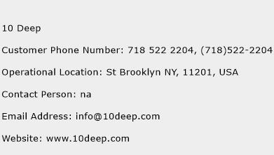 10 Deep Phone Number Customer Service