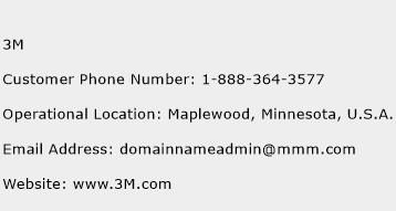 3M Phone Number Customer Service