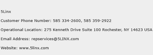 5Linx Phone Number Customer Service