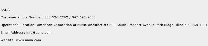 AANA Phone Number Customer Service