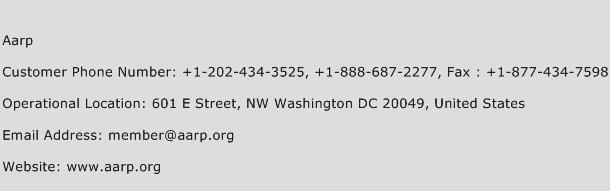 AARP Phone Number Customer Service