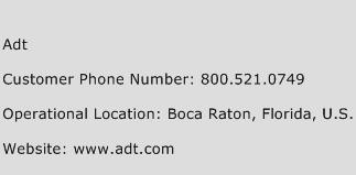 ADT Phone Number Customer Service