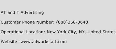AT and T Advertising Phone Number Customer Service