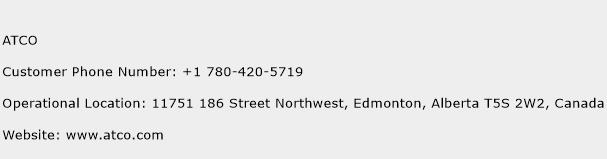 ATCO Phone Number Customer Service