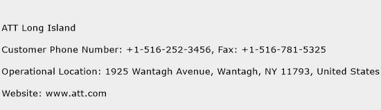 ATT Long Island Phone Number Customer Service