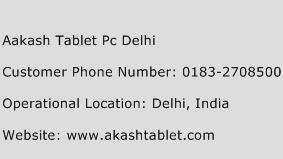 Aakash Tablet Pc Delhi Phone Number Customer Service