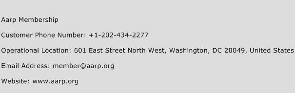 Aarp Membership Phone Number Customer Service