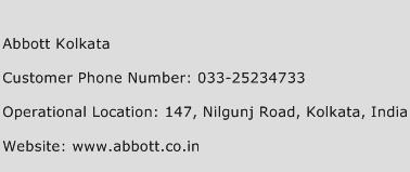Abbott Kolkata Phone Number Customer Service