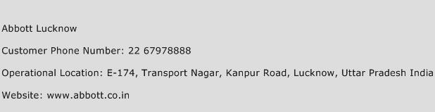 Abbott Lucknow Phone Number Customer Service