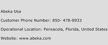 Abeka Usa Phone Number Customer Service
