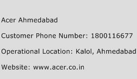 Acer Ahmedabad Phone Number Customer Service