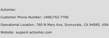 Actiontec Phone Number Customer Service