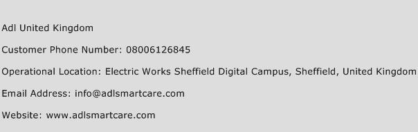 Adl United Kingdom Phone Number Customer Service