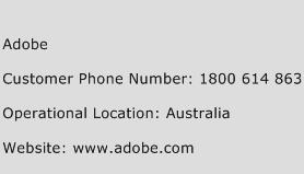 Adobe Phone Number Customer Service