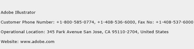 Adobe Illustrator Phone Number Customer Service