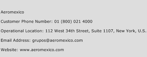 Aeromexico Phone Number Customer Service