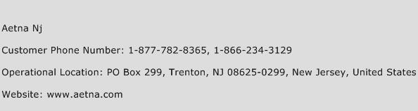 Aetna Nj Phone Number Customer Service
