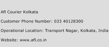 Afl Courier Kolkata Phone Number Customer Service