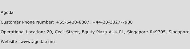 Agoda Phone Number Customer Service