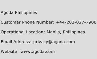 Agoda Philippines Phone Number Customer Service