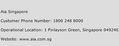 Aia Singapore Phone Number Customer Service