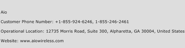 Aio Phone Number Customer Service