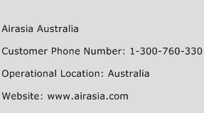 Airasia Australia Phone Number Customer Service