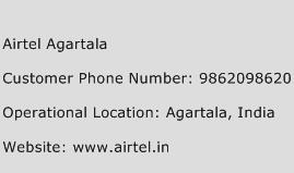 Airtel Agartala Phone Number Customer Service