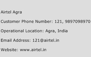 Airtel Agra Phone Number Customer Service