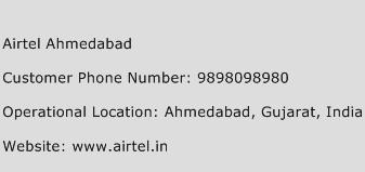Airtel Ahmedabad Phone Number Customer Service