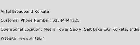 Airtel Broadband Kolkata Phone Number Customer Service