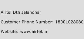 Airtel DTH Jalandhar Phone Number Customer Service