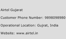 Airtel Gujarat Phone Number Customer Service