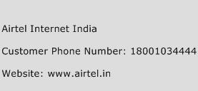 Airtel Internet India Phone Number Customer Service
