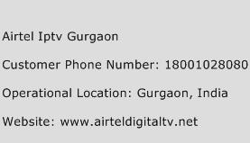 Airtel Iptv Gurgaon Phone Number Customer Service