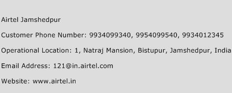 Airtel Jamshedpur Phone Number Customer Service