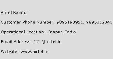 Airtel Kannur Phone Number Customer Service