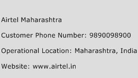 Airtel Maharashtra Phone Number Customer Service