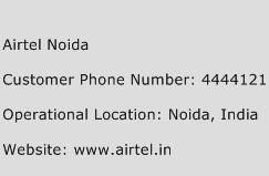 Airtel Noida Phone Number Customer Service