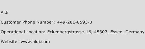Aldi Phone Number Customer Service