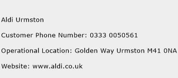 Aldi Urmston Phone Number Customer Service