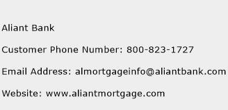 Aliant Bank Phone Number Customer Service