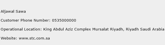 Aljawal Sawa Phone Number Customer Service