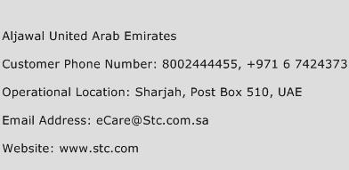 Aljawal United Arab Emirates Phone Number Customer Service