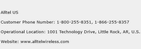 Alltel US Phone Number Customer Service