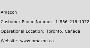 Amazon Phone Number Customer Service