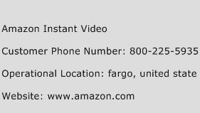 Amazon Instant Video Phone Number Customer Service