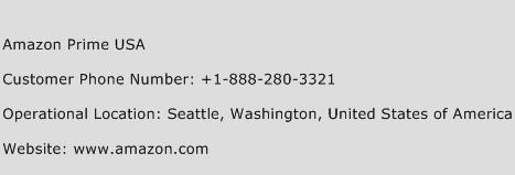 Amazon Prime Hotline