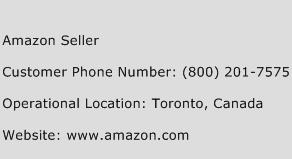 amazon seller phone number