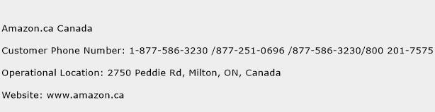 Amazon.ca Canada Contact Number  Amazon.ca Canada Customer Service Number  Amazon.ca Canada